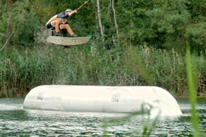 Double Elbow Pipe Wake and Beach Halbendorf Feature